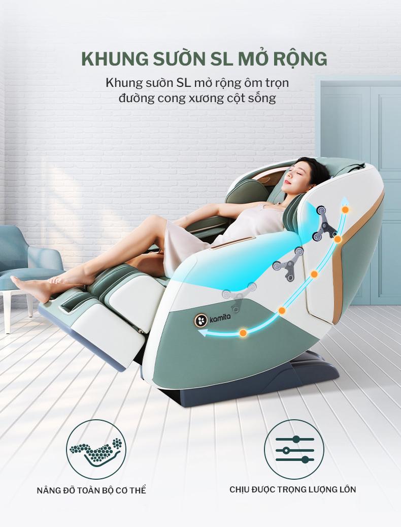 Ghế massage Kamita